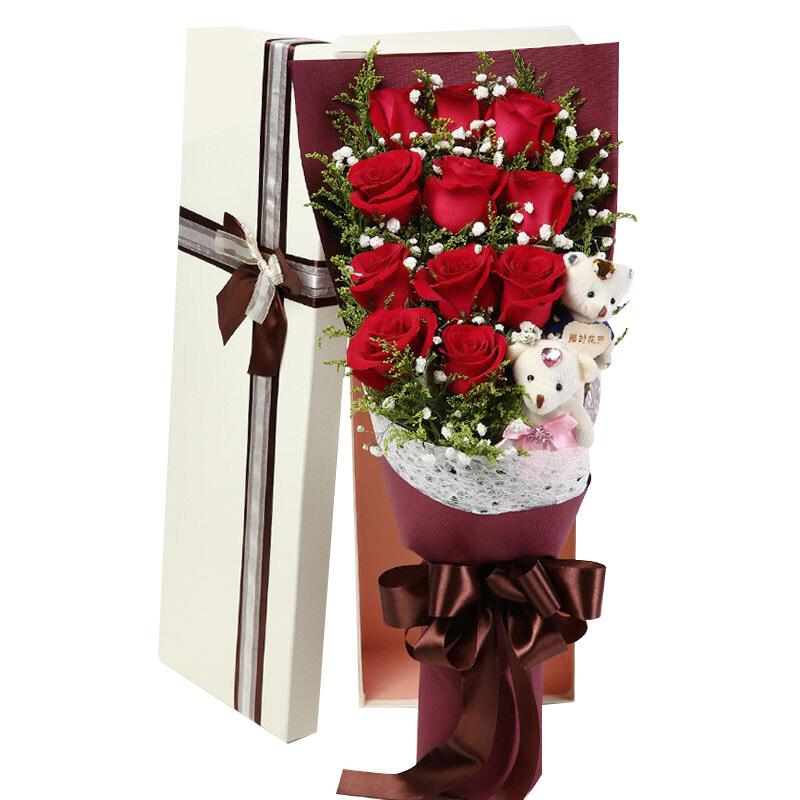 11朵精品红玫瑰/幸福故事