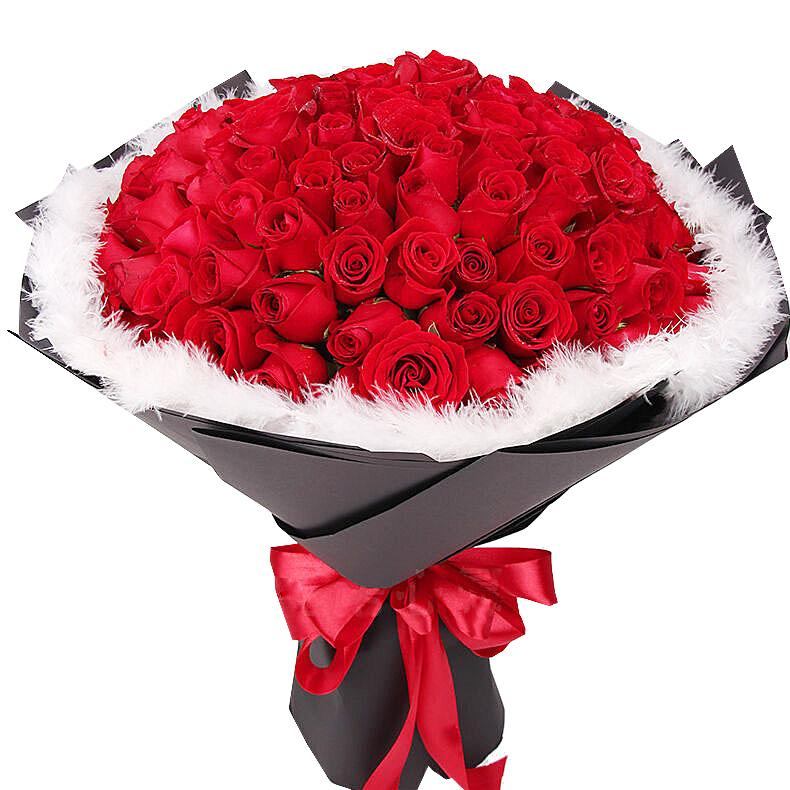 精选99朵红玫瑰/一生相守