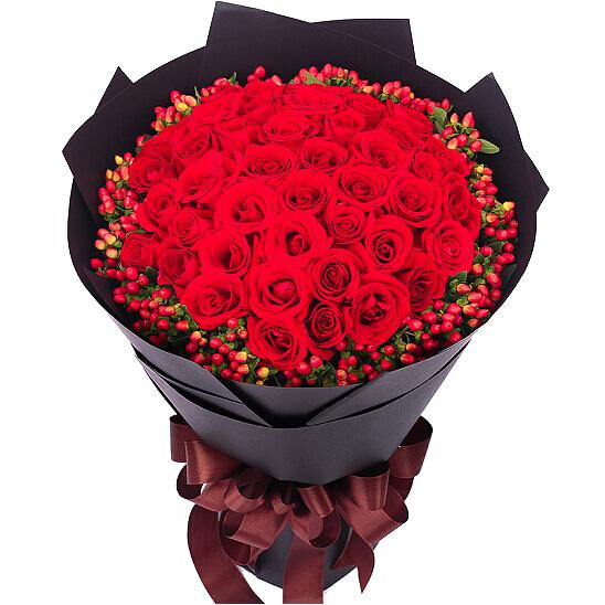 33朵红玫瑰/红豆相思