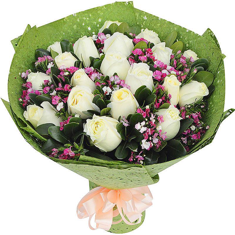 33朵白玫瑰/我心中只有你