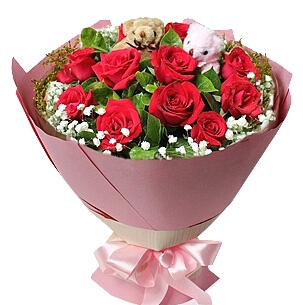 11朵红玫瑰/我们的小热恋